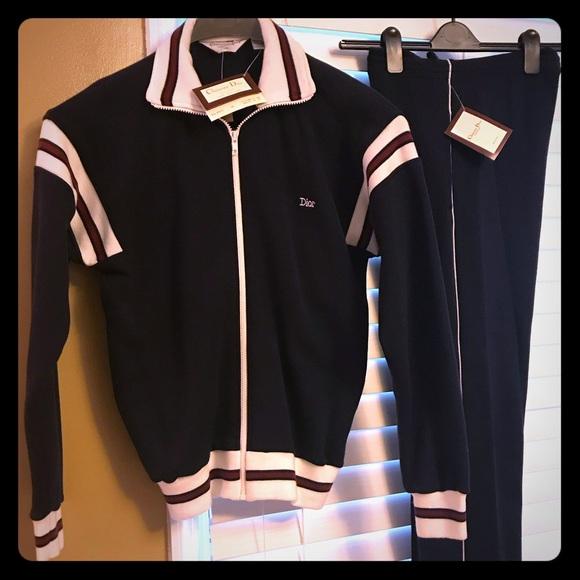 Dior Other   New Christian Vintage Sweatsuit   Poshmark 86768876cba